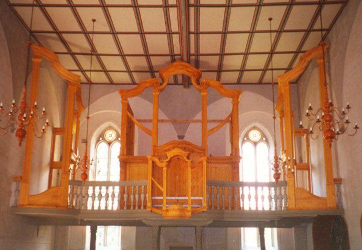 vollständiges Orgelgehäuse